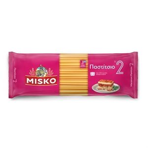 PAST002_Misko Greek Pasta No2 Pastitsio_500g