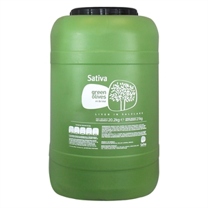 OLIV007_Sativa Chalkidiki Green Olives Colossal Whole_12kg