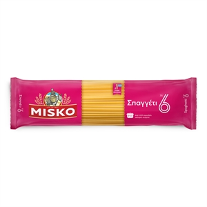 PAST001_Misko Greek Pasta No6 Spaghetti_500g