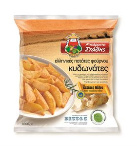 Greek oven potato wedges 1000g