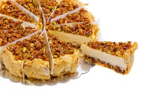 baklava cheese cake